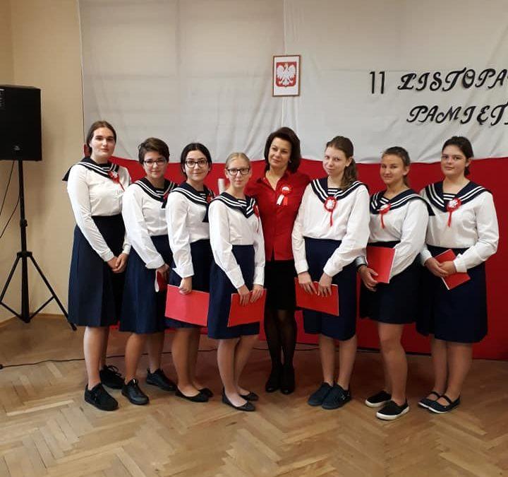 Akademia z okazji 101 rocznicy Odzyskania Niepodległości